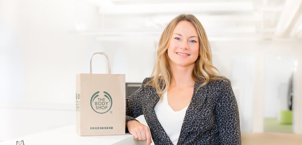 Cecilia Sahlin VD för The BodyShop