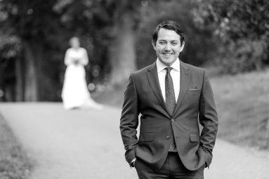 Bröllop svartvitt
