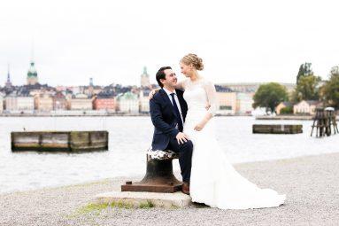 Porträtt bröllop