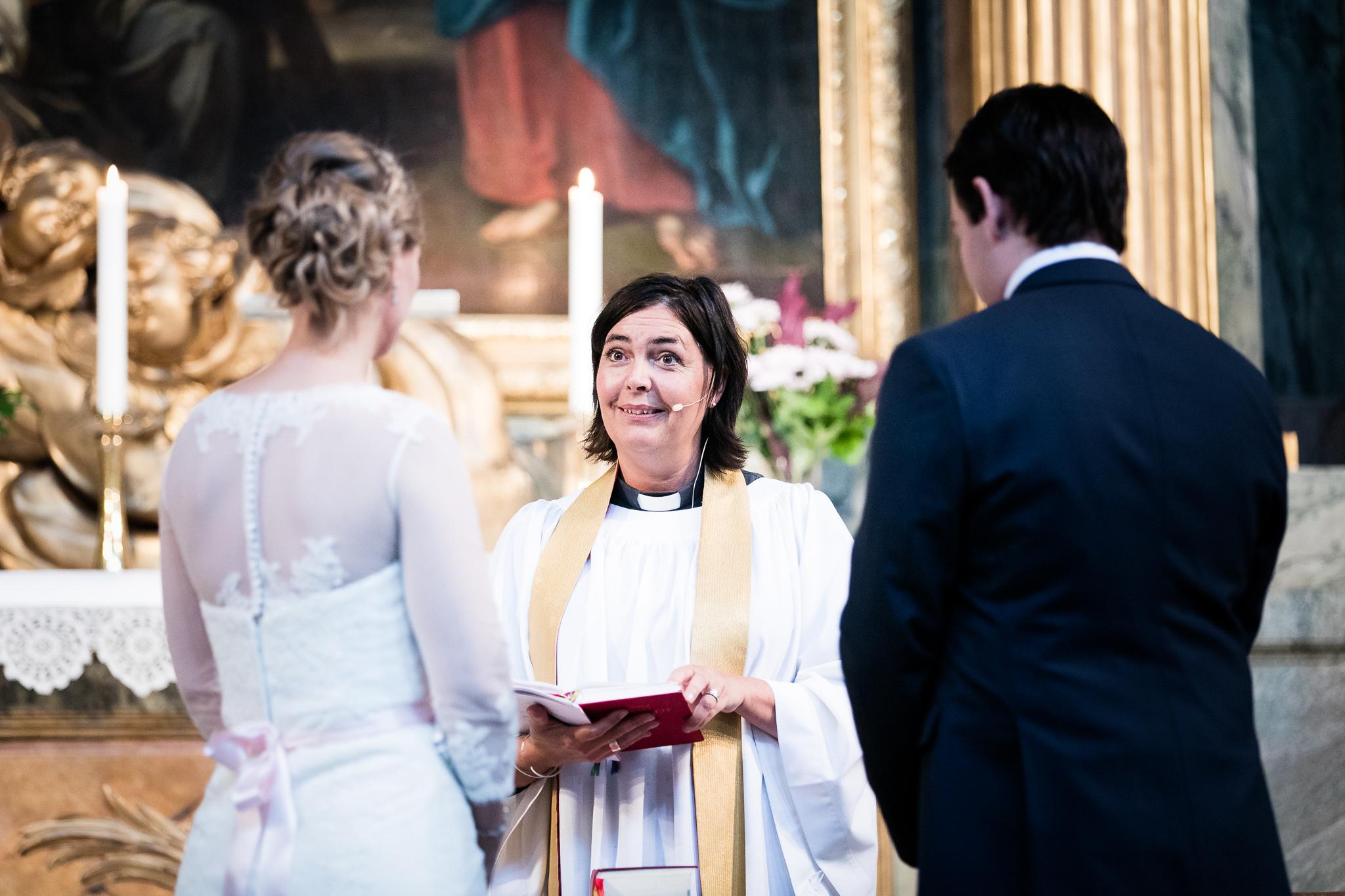 Vigsel Hedvig Eleonora Kyrka