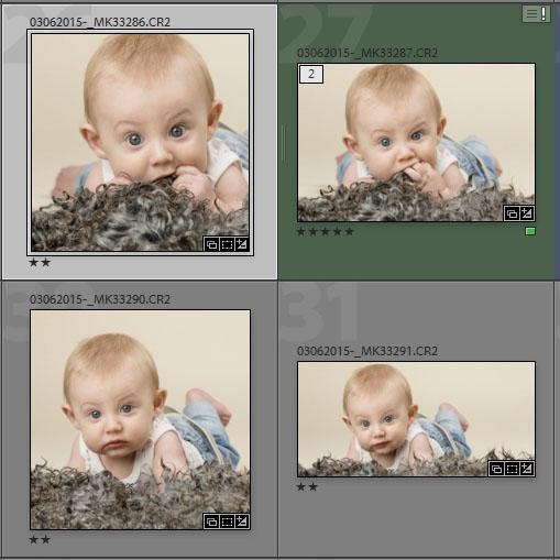 Bilderna digitalt