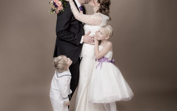 Bröllopsporträtt Studio