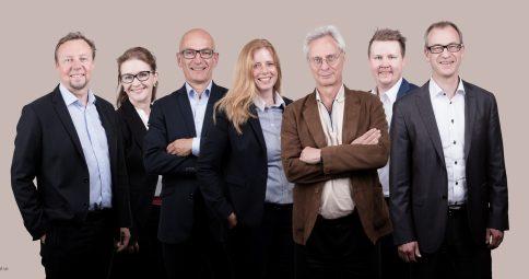 Gruppbild företag