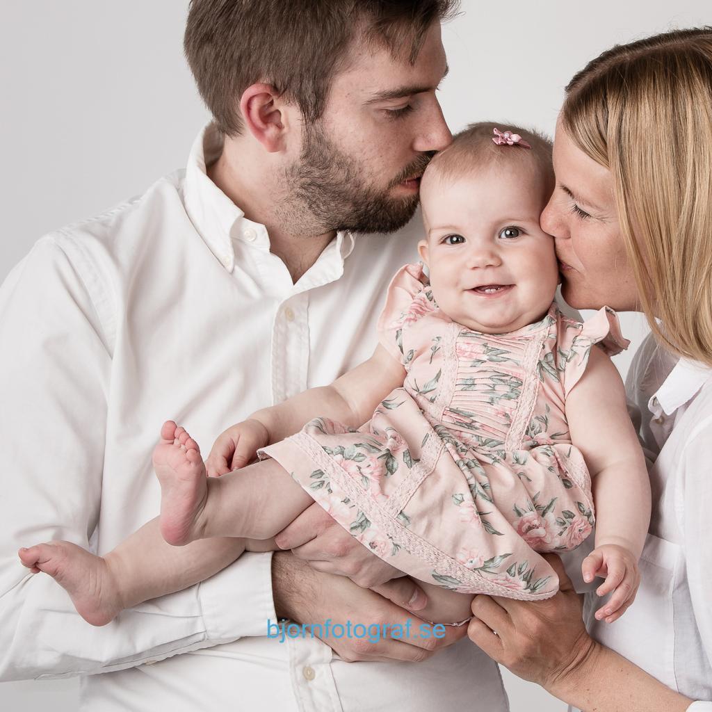 Familjepoträtt i Stockholm