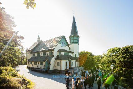 Bröllop Djursholms kapell