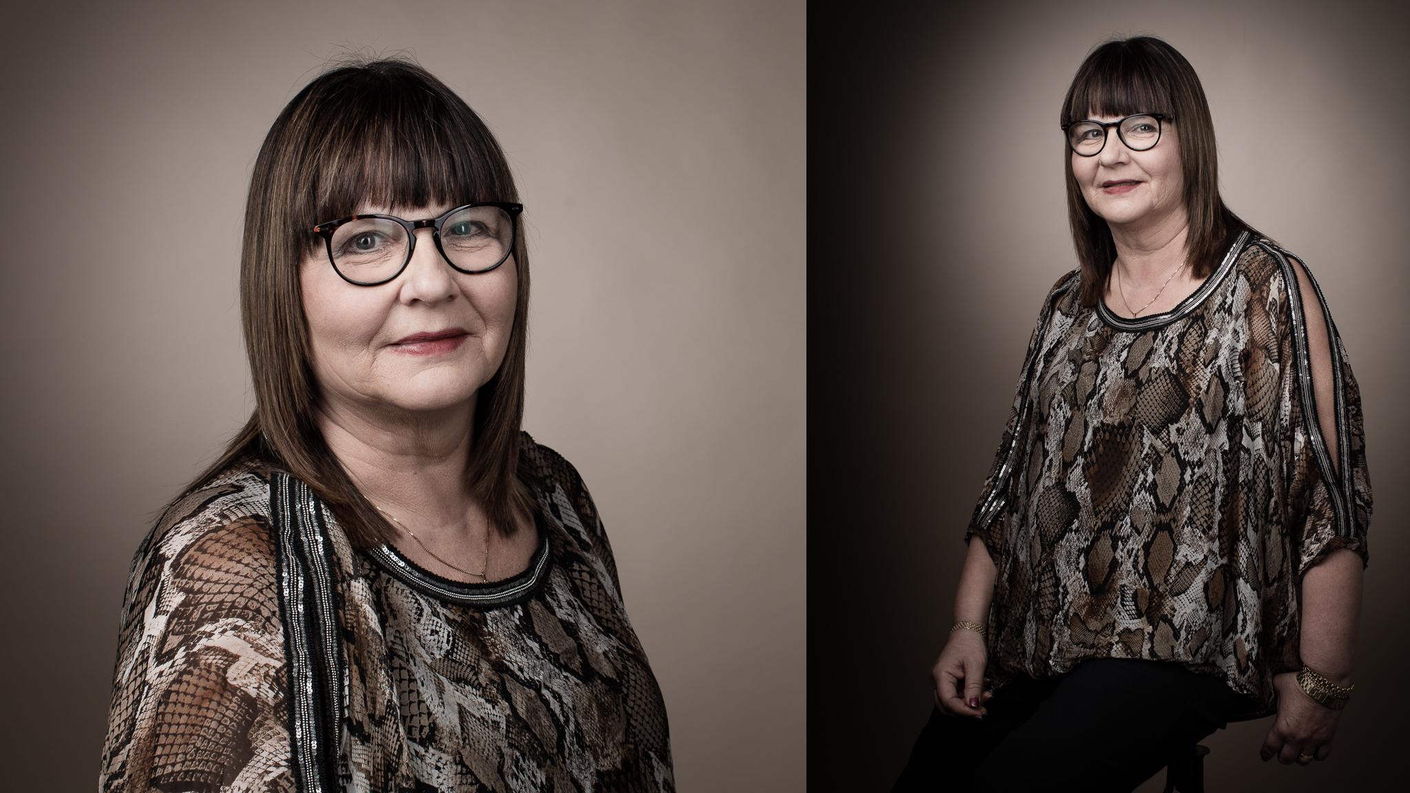 CV porträtt