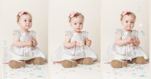 Barnfotografering 1 år